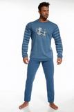 Pánske pyžamo Cornette 11576 Daddy and Me džínsové