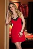 Nočná košeľa Eldar Helen červená