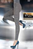 Dámske legíny Fiore 6010 Ambra grafitové
