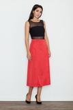 Dámska sukňa Figl M554 červená