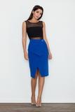 Dámska sukňa Figl M559 modrá