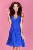 Dámske šaty Numoco 35-1 modré