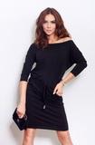 Dámske šaty Numoco 13-1A čierne