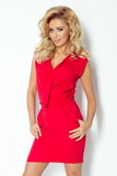 Dámske šaty Numoco 94-2 červené