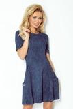 Dámske šaty Numoco 99-2 modré