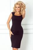 Dámske šaty Numoco 53-9A čierne