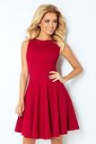 Dámske šaty Numoco 125-1 višňové