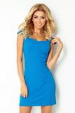 Dámske šaty Numoco 118-4 modré