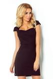 Dámske šaty Numoco 118-5 čierne