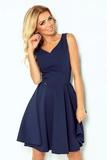 Dámske šaty Numoco 114-7 modré