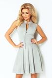 Dámske šaty Numoco 123-6 šedé