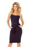 Dámska sukňa Numoco 127-4 čierna
