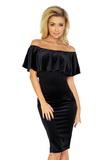 Dámske šaty Numoco 138-4 čierne