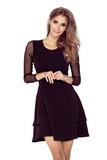 Dámske šaty Numoco 141-6 čierne