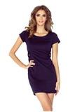 Dámske šaty Morimia 010-1 tmavo modré