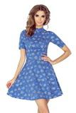 Dámske šaty Morimia 011-1 džínsové