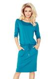 Dámske šaty Numoco 13-63 modré