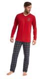 Pánske pyžamo Cornette 12494 Original červené