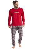Pánske pyžamo Cornette 12487 Display 2 červené