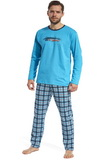 Pánske pyžamo Cornette 12486 Display tyrkysové
