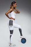 Fitness legíny BasBleu Passion biele