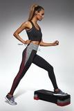 Fitness legíny BasBleu Extreme čierne