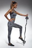 Fitness legíny BasBleu Intense čierne
