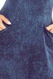 Dámske šaty Numoco 155-2 modré