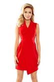 Dámske šaty Numoco 153-2 červené