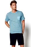 Pánske pyžamo Esotiq 34982 modré