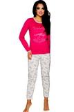 Dámske pyžamo Taro Gabi 211 malinové