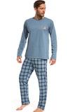 Pánske pyžamo Cornette 12497 modré