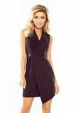 Dámske šaty Numoco 153-4 čierne