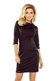 Dámske šaty Numoco 154-1 čierne