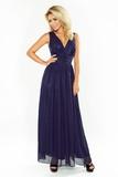 Dámske šaty Numoco 166-1 tmavo modré