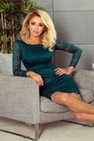 Dámske šaty Numoco 180-2 zelené