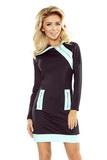 Dámske šaty Numoco 129-6 čierne