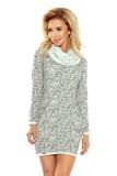 Dámske šaty Numoco 119-2 šedé