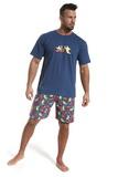 Pánske pyžamo Cornette 32658 Siesta džínsové