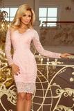 Dámske šaty Numoco 170-4 ružové