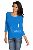 Dámske tričko Babell Manati modré