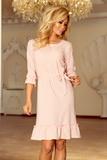 Dámske šaty Numoco 193-2 ružové
