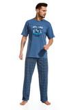 Pánske pyžamo Cornette 3451 Brooklyn 2 džínsové