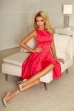 Dámske šaty Numoco 175-2 malinové