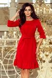 Dámske šaty Numoco 193-6 červené