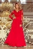 Dámske šaty Numoco 213-3 červené