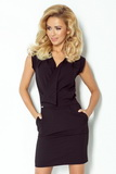 Dámske šaty Numoco 94-4 čierne