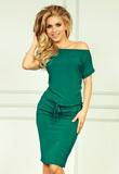 Dámske šaty Numoco 56-5 zelené