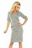Dámske šaty Numoco 161-14 šedé