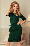 Dámske šaty Numoco 161-12 zelené